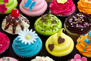 Colorful-Cupcakes